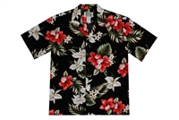 KYs Mens Hawaiian Garden Shirt
