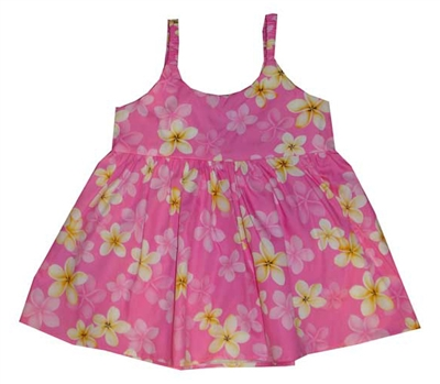 KYs Childrens Pink Hawaiian Dress