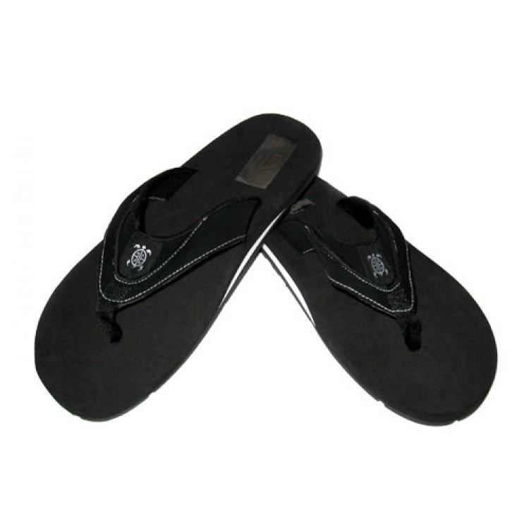4a90b7e16 Men s Honu Flip Flops - Black