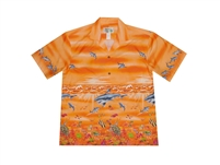 Bulk H424OR Hawaiian shirt