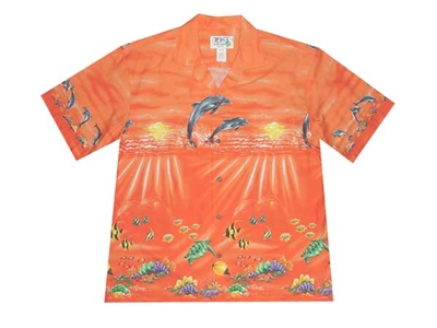 Bulk H452OR Hawaiian shirt