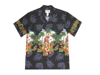 Bulk H455B Hawaiian shirt