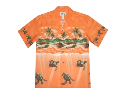 Bulk H460OR Hawaiian shirt