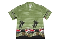 Bulk H463G Hawaiian shirt