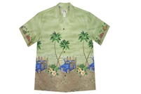 Bulk H467G Hawaiian shirt