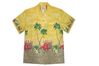 Bulk H467Y Hawaiian shirt