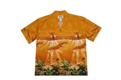 Bulk H493OR Hawaiian shirt
