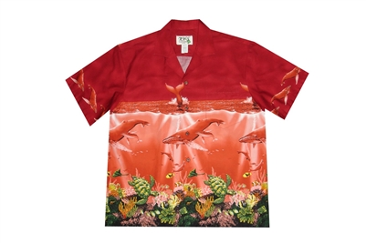 Bulk H493R Hawaiian shirt