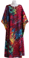 Peppermint Bay Fuchsia Multicolor Caftan