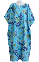 Peppermint Bay Womens Tropical Blossom Caftan