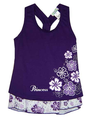 Purple Princess Hawaiian Outfits