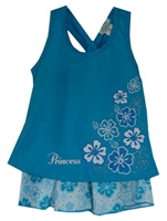 Turquoise Princess Hawaiian Outfits