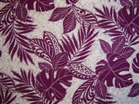 Eggplant Rayon London Fabric