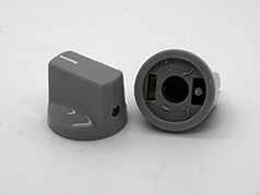 Pointer Knob in Gray