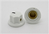 Small Fluted MXR Knob in White