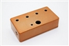 1590B Drilled for 4 Knobs Horizontally - Any Color
