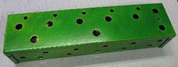 1411WU Drilled for Looper in Psycho Lime