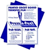 Press-n-Peel Blue PCB Transfer Film