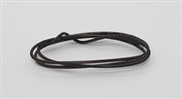 24/1 (Solid) Wire Black > per foot