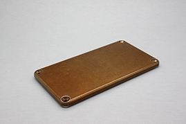 Hammond 1590B Blemished Back Plate