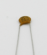 51pf 50v Xicon Ceramic Disk Capacitor