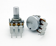 Alpha Potentiometer A25K 16mm PCB Mount