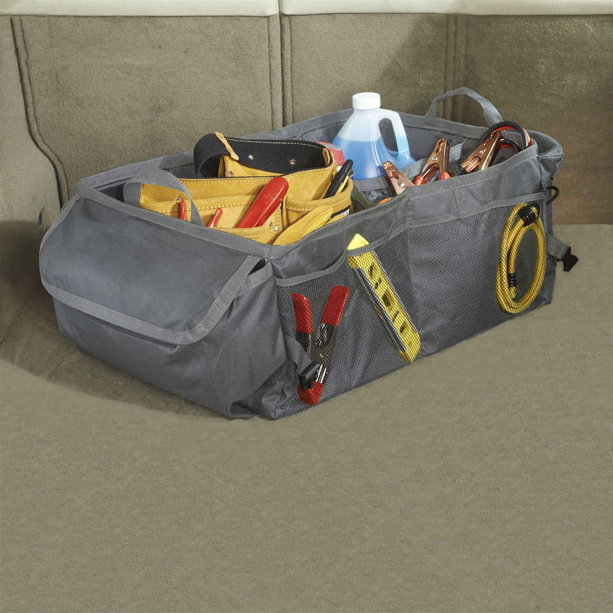RYANSTAR RACING Multi-Purpose Baggage Storage Racks Cargo Blocks Trunk Organizer for Trunk Car SUV Van Set of 4