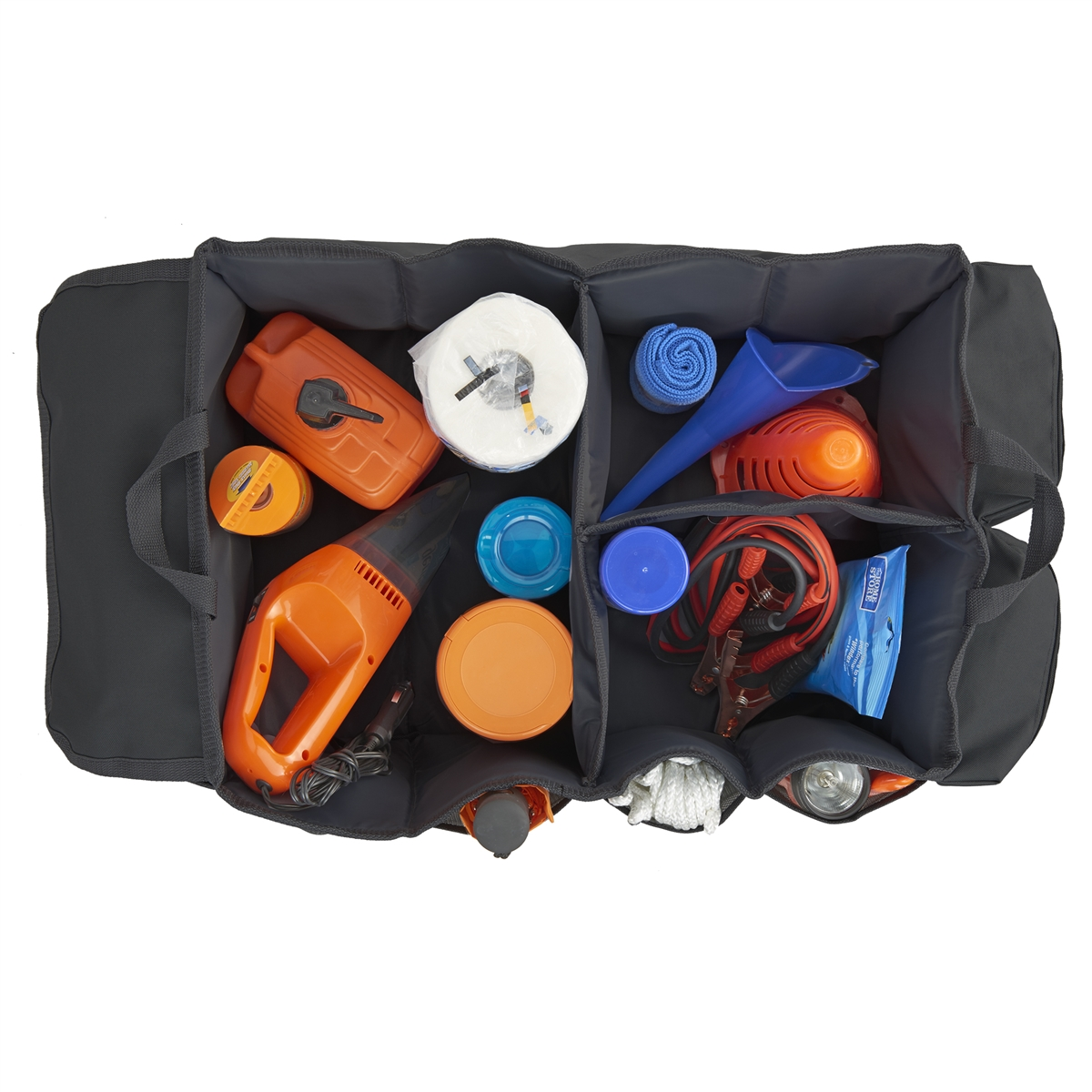 Gearnormous Extra Large Car Trunk And Suv Cargo Organizer