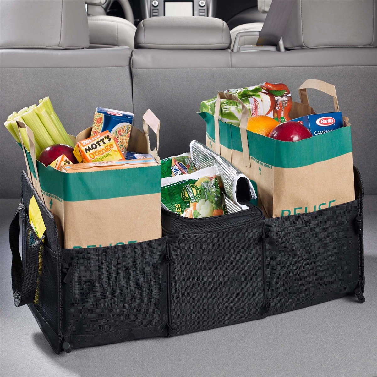 Cool Nride Car Trunk Organizer With Cooler Collapsible Trunk