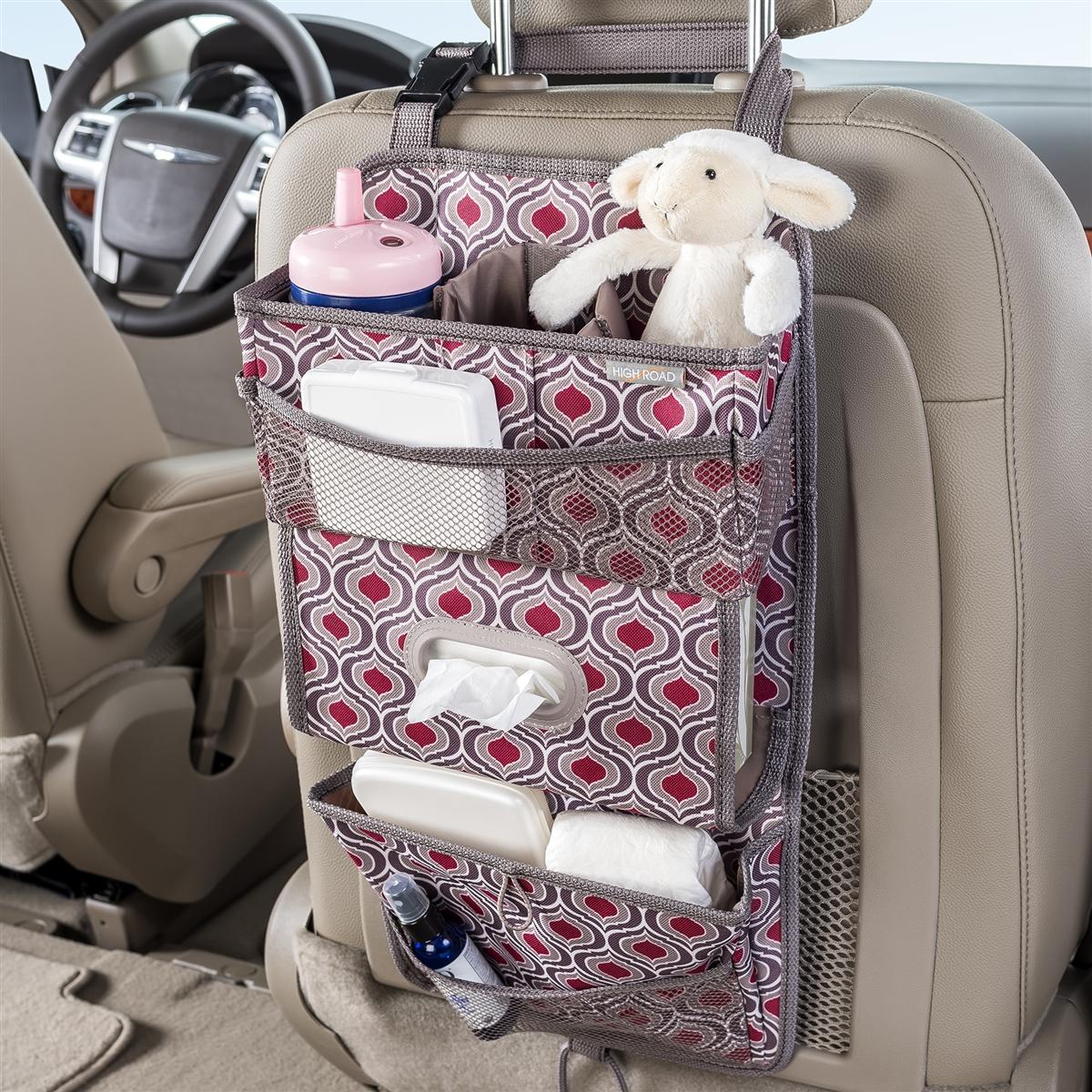 High Road TissuePockets Sahara Seat Back Car Organizer and Car ...