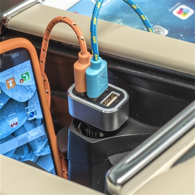 3 Port Triple USB Car Charger for 12V Power Sockets