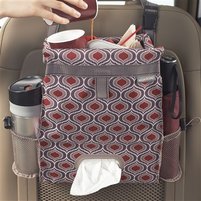 High Road Puff'n Stuff Sahara Seatback Trash and Tissue Car Organizer