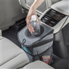 High Road StashAway Console Car Trash Can & Auto Trash Bag in Gray