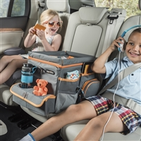 High Road Kids Large Car Seat Cooler and Backseat Organizer with Play Tray