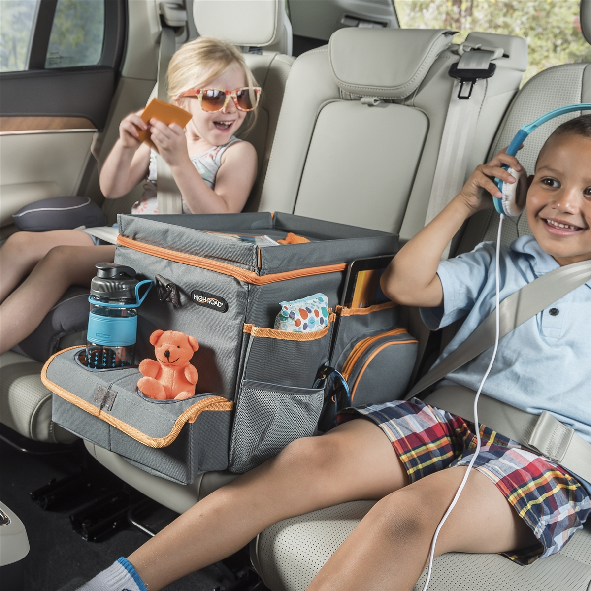 High Road Car Organizers Kids Back Seat Organizer With Cooler Tray