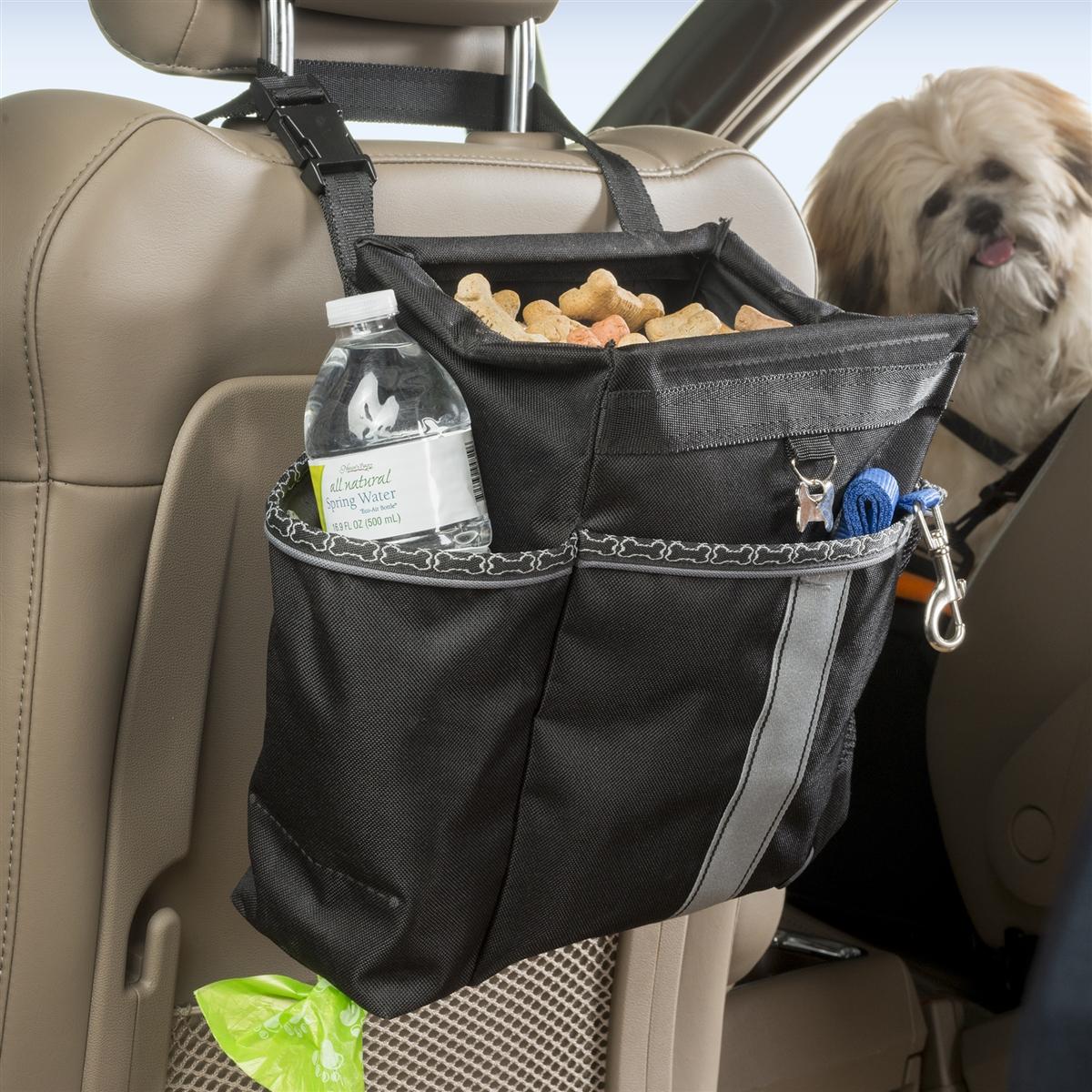 High Road Wag\'nRide Back Seat Organizer, Dog Seatback Organizer Car ...