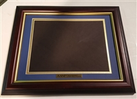 Gold Matted Certificate Frame