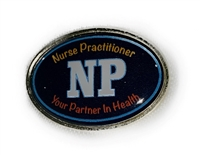 Nurse Practitioner Lapel Pin