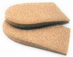 "1/4"" Medical-Grade Rubber Cork Heel Lifts"