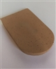8-Degree Natural Rubber Cork Heel Wedge