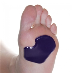 "Reusable Self-Sticking 1/8"" Gel Dancer's Sesamoid Pads"
