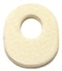 extra thick callus pads, oval shaped foot pads