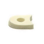 "1/4"" Medical-Grade Foam Toe Separators"