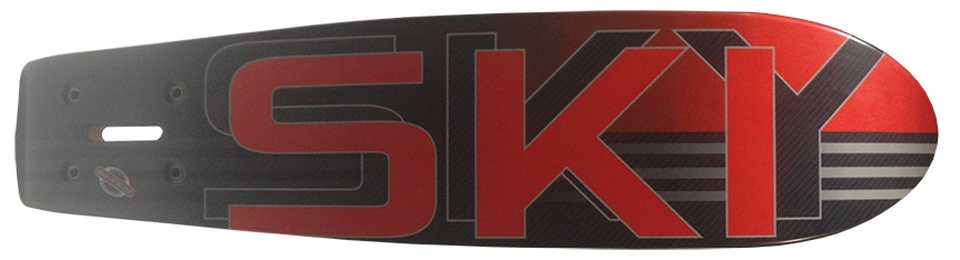 Sky Ski Matrix C3 Super Lightweight 7lb Carbon Fiber Board