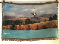 Sublimated Couch Throw Blanket