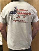 Est 1998 Patriot Sky Ski T-Shirt