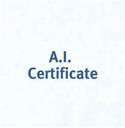 Advance 3178 Certificate