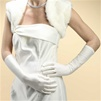 Below Elbow Wedding or Prom Gloves in Matte Satin<br>224GL