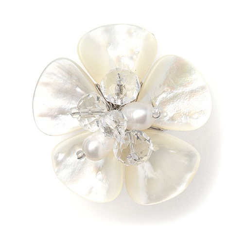 Exotic Freshwater Pearl Bridal Ring<br>3134R