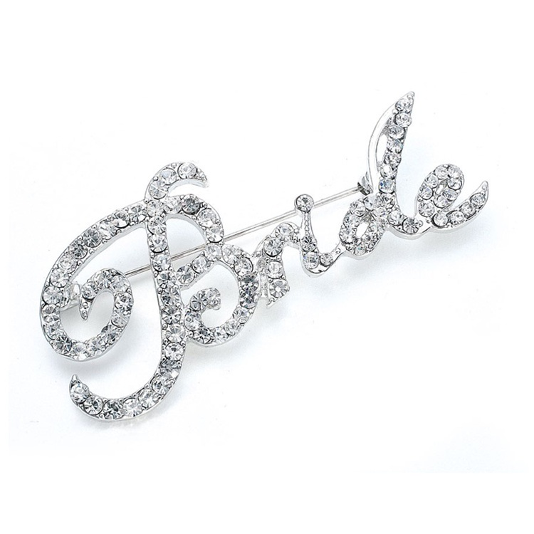 "Crystal ""Bride"" Pin<br>3163P"